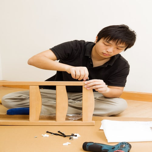 assemble taobao furniture