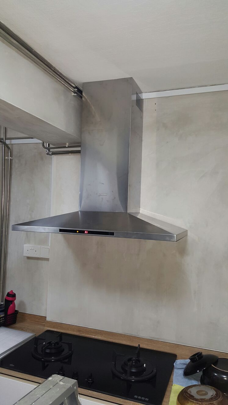 Install Kitchen Hood Singapore